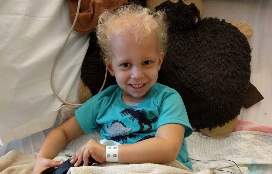 Austin in treatment