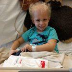 Austin in hospital