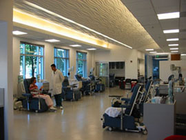 Donor center