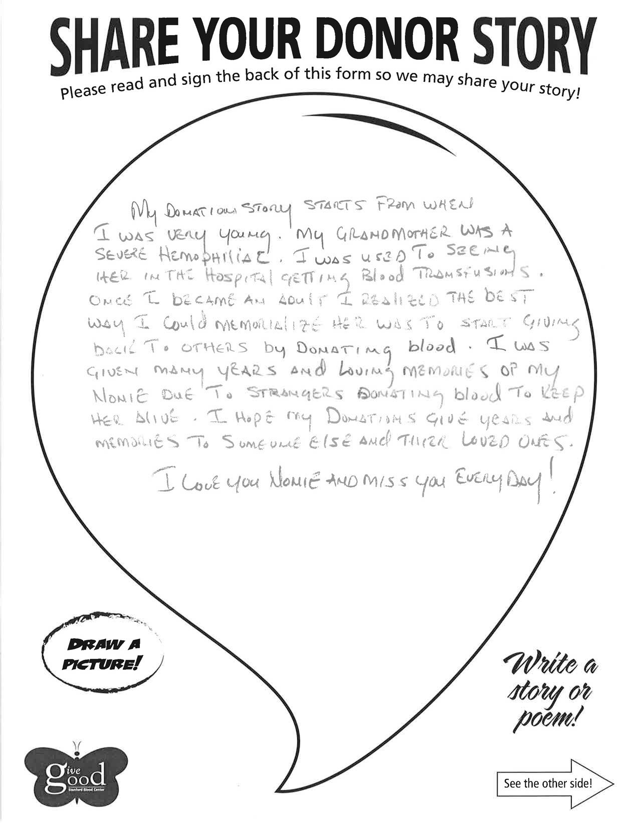 Tony's story