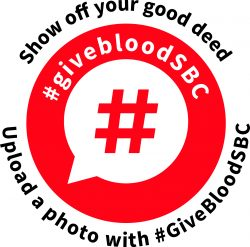 #givebloodSBC