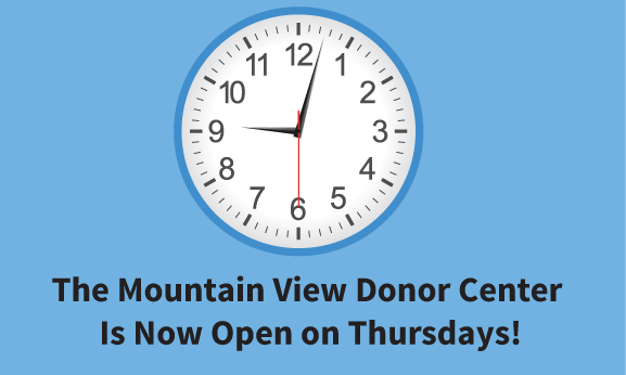 Mountain View Hours Update