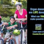 Organ recipient, Christine
