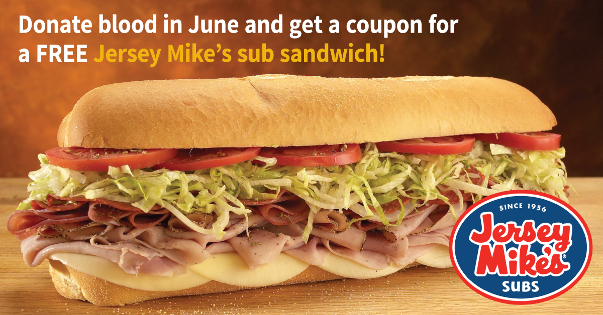 Save lives and get a free sub!