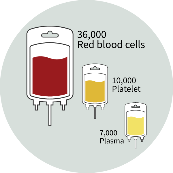 Blood-Donation-Facts-36,000 units of blood are needed every day
