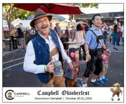 Come see us at Oktoberfest Campbell on October 20