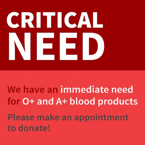 Critical Need Platelets
