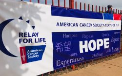 Relay for Life event banner