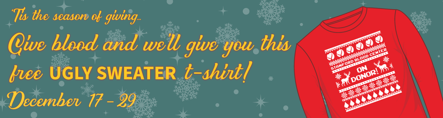 Donate to get your ugly sweater t-shirt
