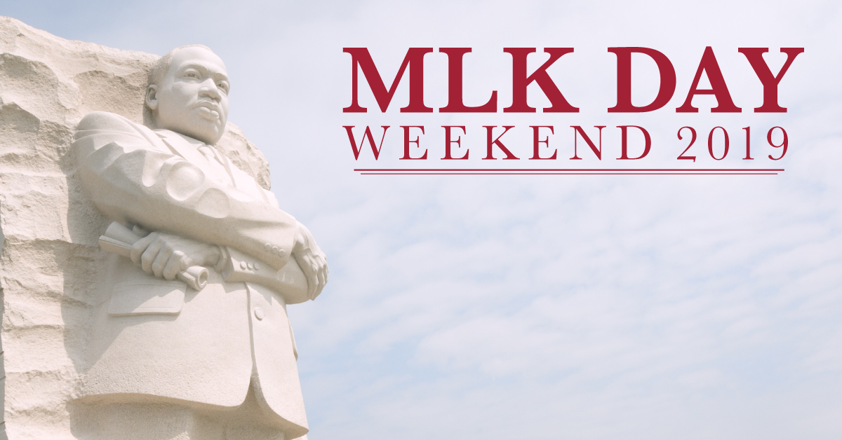 MLK Day Weekend Movie Ticket