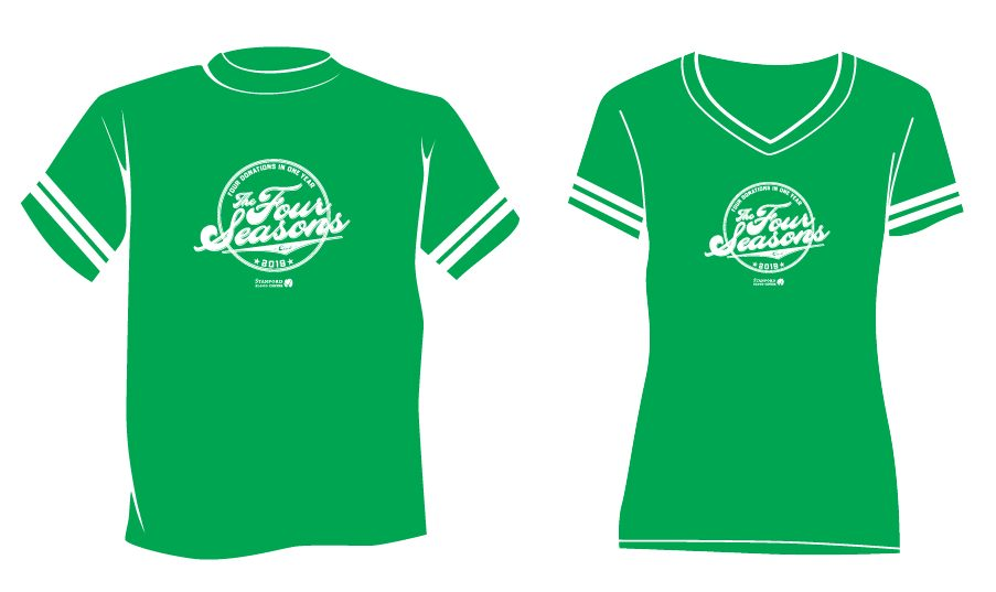 2019 Four Seasons tshirt green sporty design