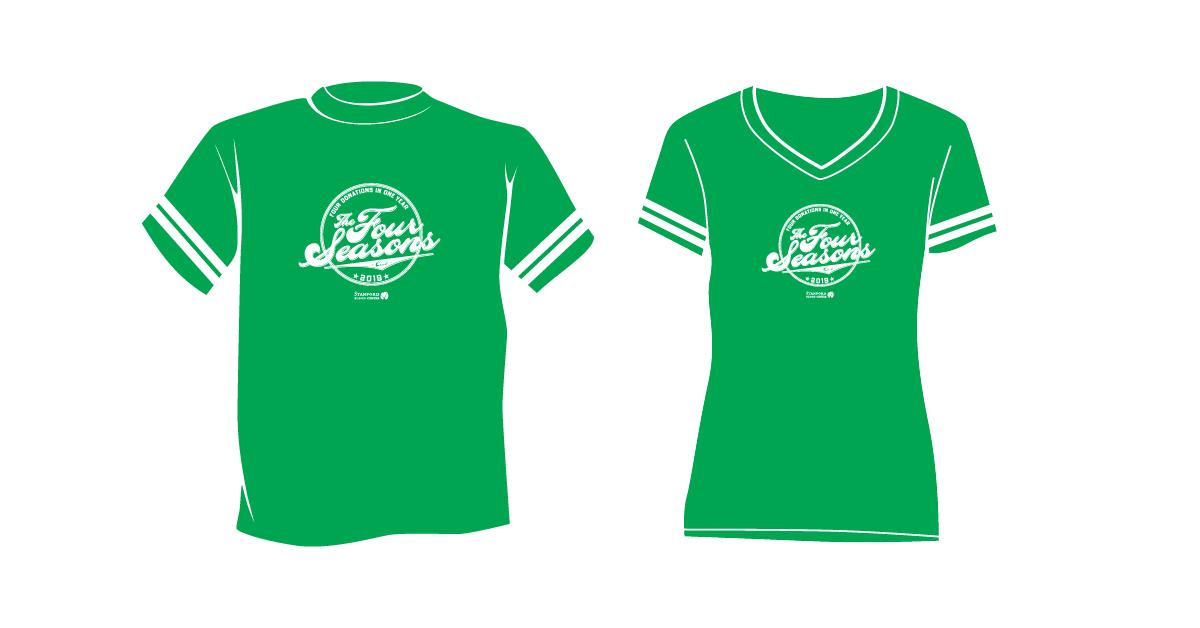 2019 Four Seasons tshirt green sporty design