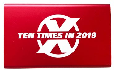 2019 Ten Times Club Gift Red power bank