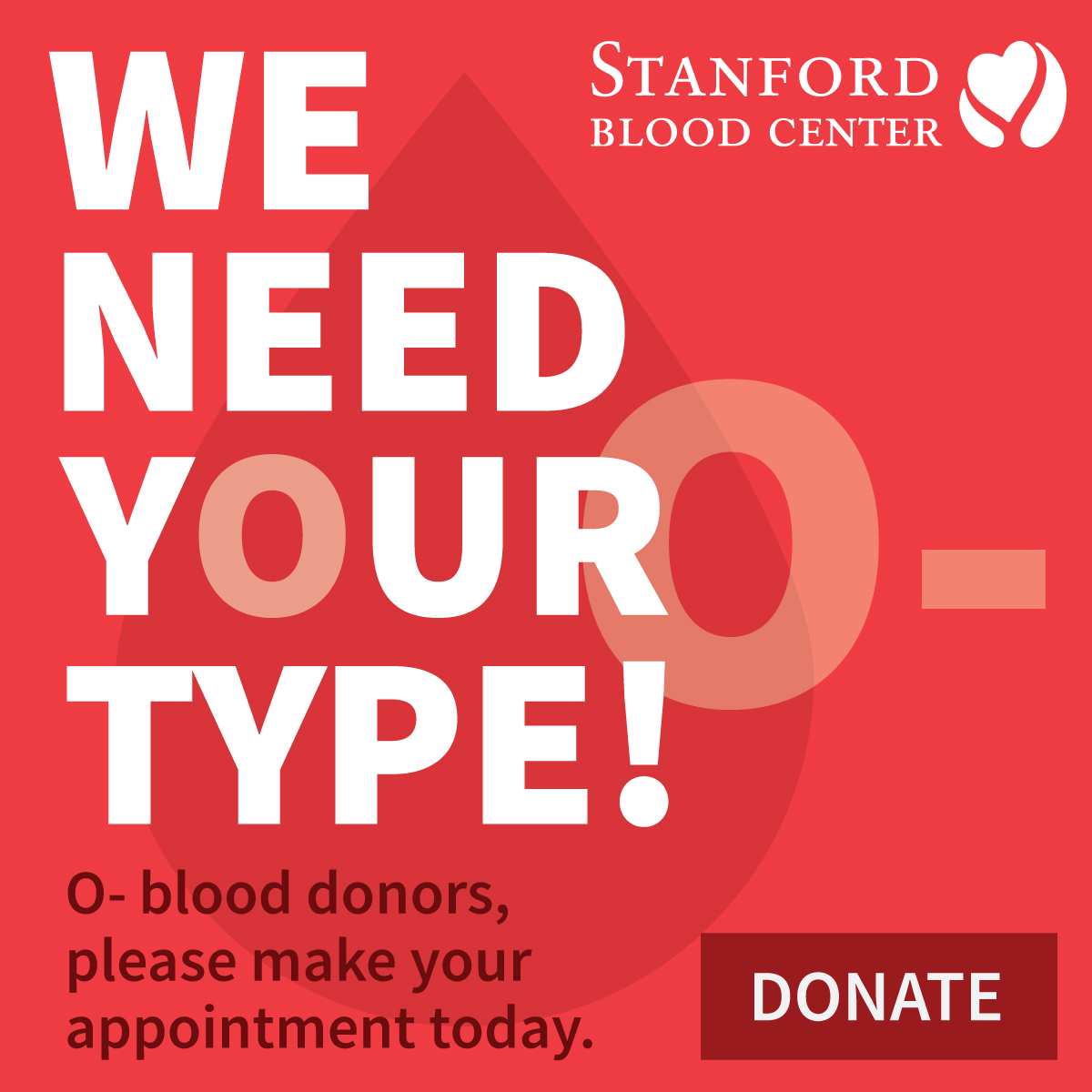 O- blood products needed
