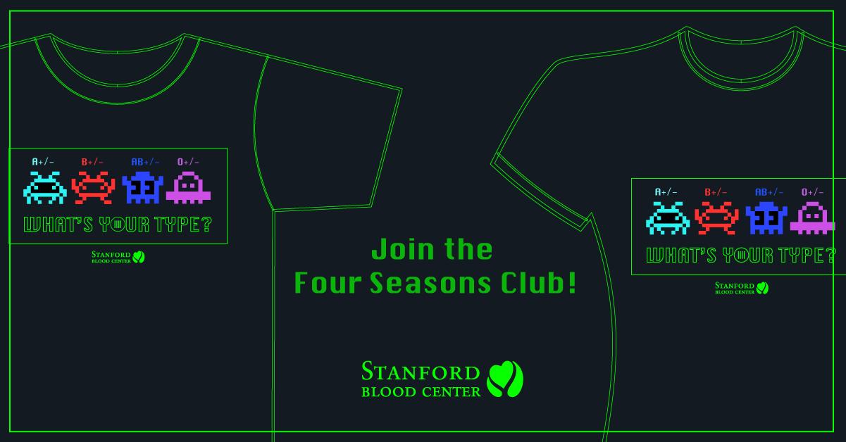 Four Seasons Club 2020 shirt