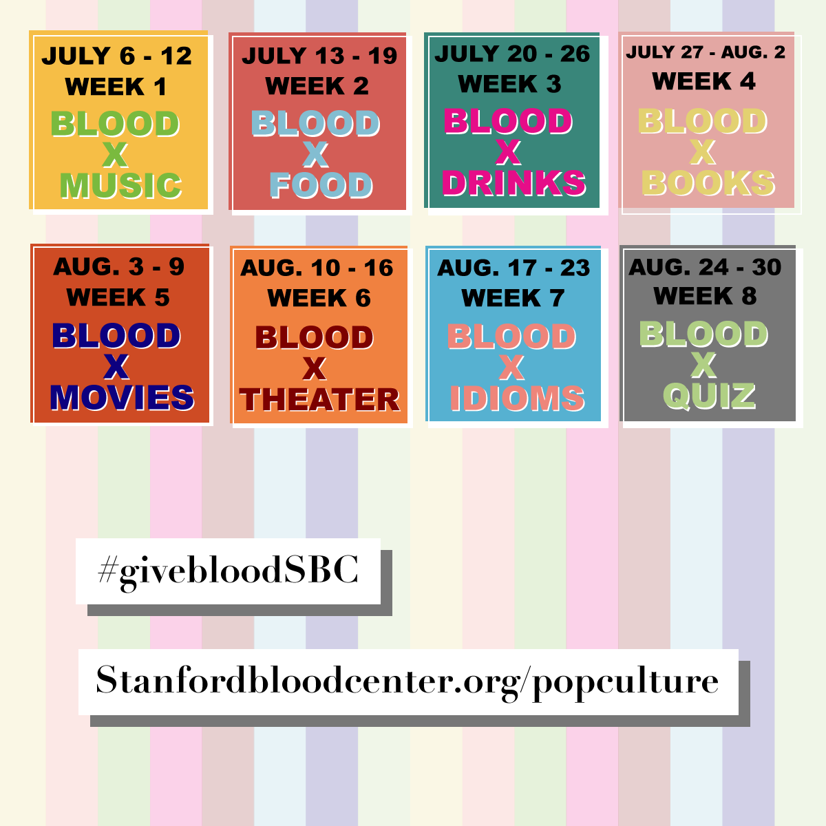 "Take the ""Blood in Pop Culture"" Challenge This Summer!"