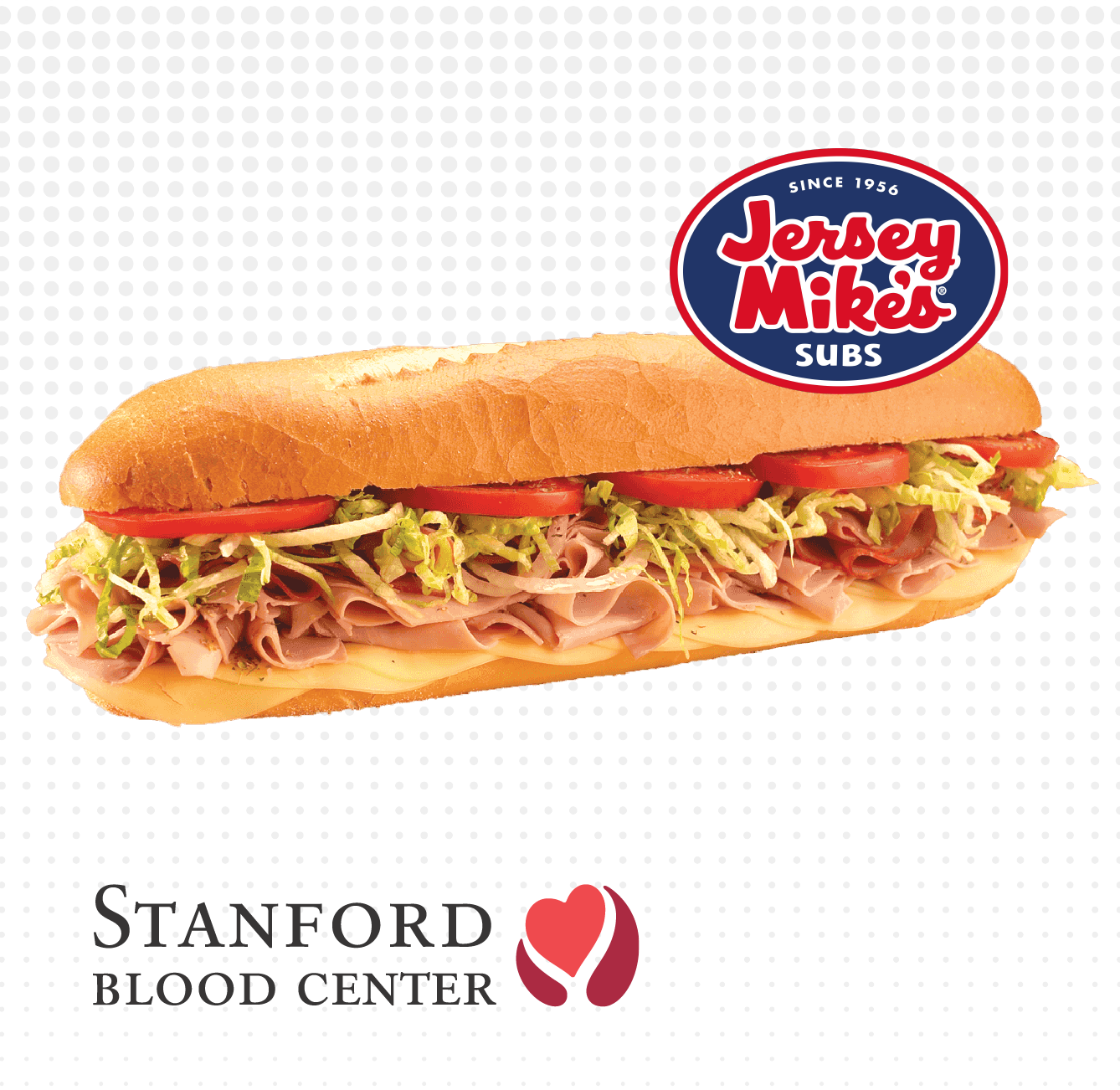 FREE Jersey Mike's sub sandwich!