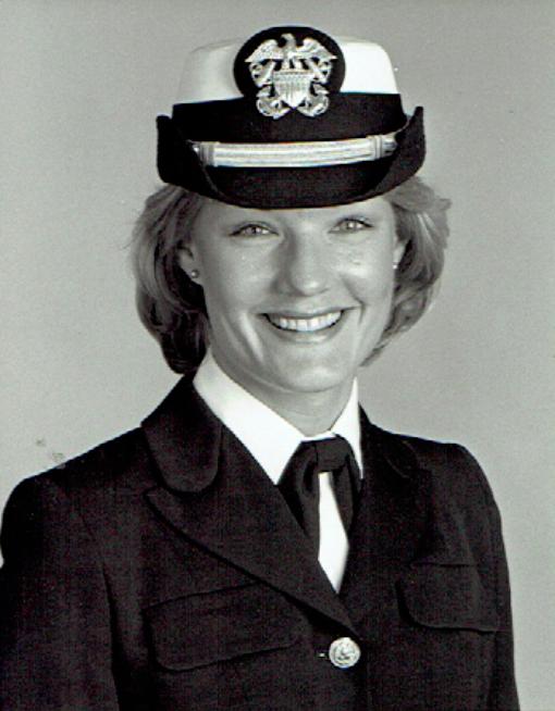 Lynn Eisberg Navy photo