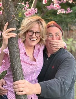 Ben and Gail in tree