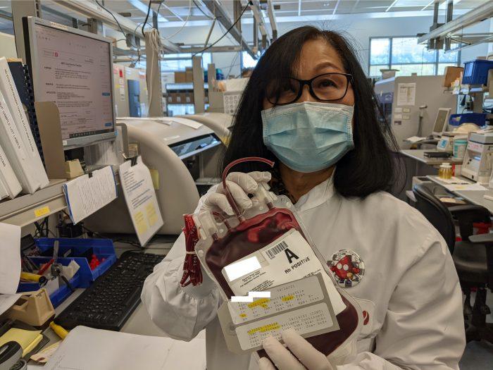 first molecular test bag
