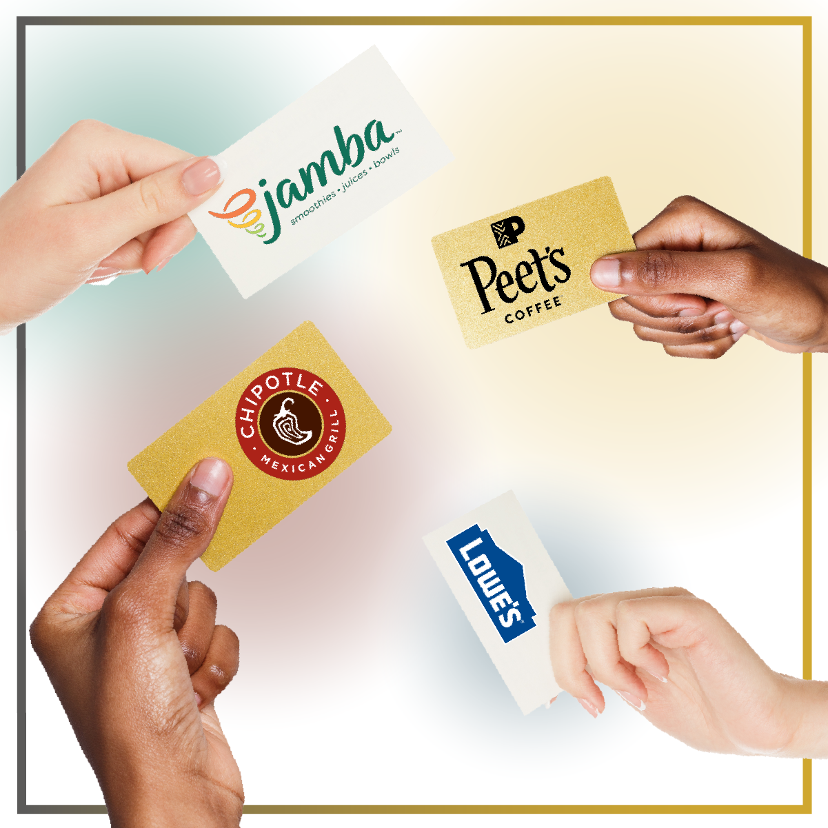 Choose Your Gift Card